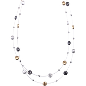 Nine West Two Row Illusion Necklace