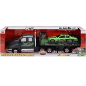 Dickie Racing Transporter and Car