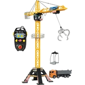 Dickie Mega RC Crane Set with Truck