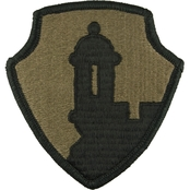 Army Unit Patch 1st Mission Support Subdued Velcro (OCP), 2 pk.