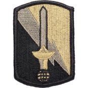 Army Unit Patch 21st Signal Brigade Subdued Velcro (OCP), 2 pk.