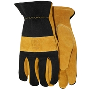 Midwest Gloves & Gear Men's Smooth Grain Cowhide Gloves