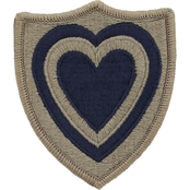 Army Patch 24th A Corps Subdued Velcro (OCP)