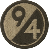 Army Unit Patch 94th Division Reserve Support Command (OCP)