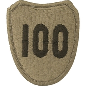 Army Unit Patch 100th Infantry Division (Training) (OCP)