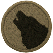 Army Unit Patch 104th Training Division (OCP)