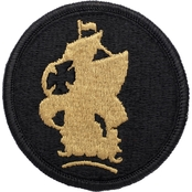 Army Patch School Of America Subdued Velcro (OCP)