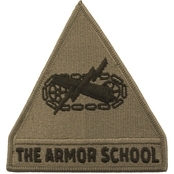 Army Unit Patch Armor School (OCP)
