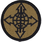 Army Patch Total Personnel Agency Subdued Velcro (OCP)