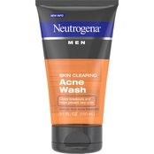 Neutrogena Men Skin Clearing Acne Wash, Salicylic Acid Acne Treatment 5.1 Oz.