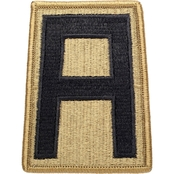 Army Unit Patch First Army, Subdued, Velcro (OCP)
