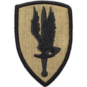 Army Unit Patch First Aviation Brigade, Subdued, Velcro (OCP)