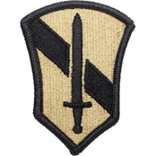 Army Unit Patch First Field Forces, Subdued, Velcro (OCP)