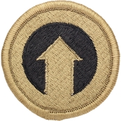 Army Unit Patch First Support Command COSCOM, Subdued, Velcro (OCP)