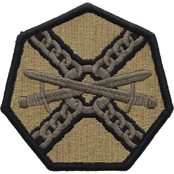 Army Unit Patch Installation Management Agency, Subdued, Velcro (OCP)