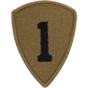 Army Unit Patch First Personnel Command, Subdued, Velcro (OCP)
