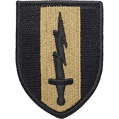 Army Unit Patch First Signal Brigade, Subdued, Velcro (OCP)