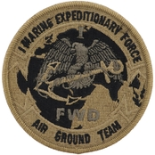 Marines Unit Patch First Marine Expedition, Subdued, Velcro (OCP)