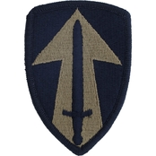 Army Patch 2nd Field Forces Subdued Velcro (OCP)