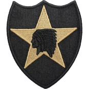 Army Patch 2nd Infantry Division Subdued Velcro (OCP)