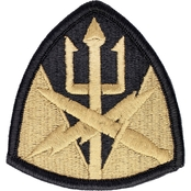 Army Patch Second Medical Brigade Subdued Velcro (OCP)