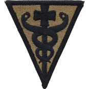 Army Patch Third Medical Command Subdued Velcro (OCP)