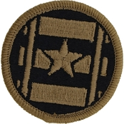 Army Patch Third Transportation Command Subdued Velcro (OCP)