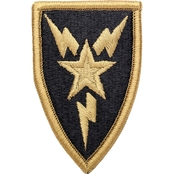 Army Patch Third Signal Brigade Subdued Velcro (OCP)