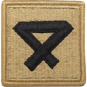 Patch Fourth Marine Division Subdued Velcro (OCP)