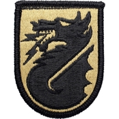 Army Patch Fifth Signal Command Subdued Velcro (OCP)