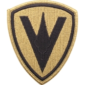 Patch Fifth Marine Division Subdued Velcro (OCP)