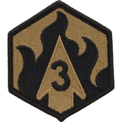 Army Patch Third Chemical Subdued Velcro (OCP)