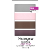 Neutrogena Nourishing Long Wear Eye Shadow + Built-In Primer, .24 Oz.