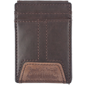 Levi's Front Pocket Magnetic Wallet with Signature Two-Horse Logo