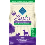 Blue Buffalo Basics Grain Free Turkey and Potato Recipe For Adult Dogs