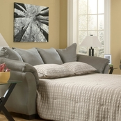 Signature Design by Ashley Darcy Full Sofa Sleeper, Cobblestone