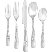 Farberware Cilantro Sand 20 pc. Flatware Set