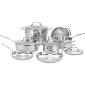 Cuisinart Chef's Classic Stainless Steel 11 pc. Cookware Set