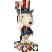 Jim Shore Peanuts Patriotic Snoopy