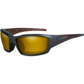 Wiley X WX Tide Triloid Nylon Rectangle Sunglasses CCTID