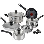 T-fal Excite Stainless Steel 14 pc. Cookware Set