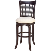 Hillsdale Bayberry Wicker Swivel Stool