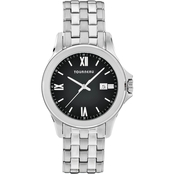 Tourneau Women's Black Dial Watch 40mm TMRB-B061