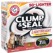 Arm & Hammer Clump Seal Light Weight Multi Cat Litter 9 lb.