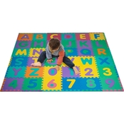 Trademark Games Alphabet and Number Puzzle Mat
