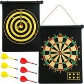 Trademark Games Magnetic Roll-up Dartboard