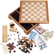 Trademark Games Deluxe 7-in-1 Game Set