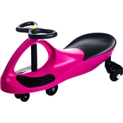 Lil' Rider Hot Pink Wiggle Car