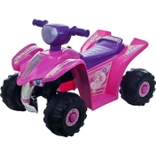 Lil' Rider Pink Princess Four Wheeler