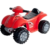 Lil' Rider Red Raptor 4 Wheeler